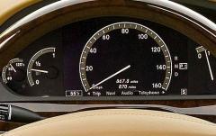 2009 Mercedes-Benz S-Class interior