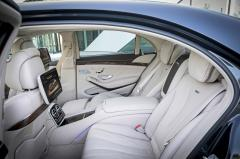 2015 Mercedes-Benz S-Class S550 interior