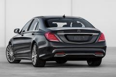 2017 Mercedes-Benz S-Class exterior