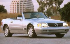 1996 Mercedes-Benz SL-Class exterior