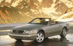 1997 Mercedes-Benz SL-Class exterior