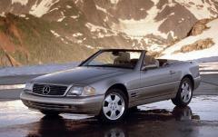 2000 Mercedes-Benz SL-Class exterior