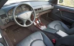 2000 Mercedes-Benz SL-Class interior