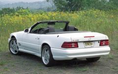 2001 Mercedes-Benz SL-Class exterior