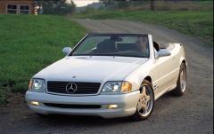 2002 Mercedes-Benz SL-Class exterior