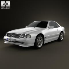 2002 Mercedes-Benz SL-Class Photo 1