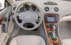 2003 Mercedes-Benz SL-Class interior