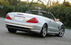 2003 Mercedes-Benz SL-Class exterior