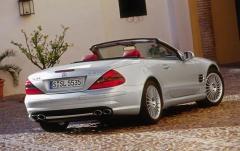 2004 Mercedes-Benz SL-Class exterior