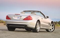 2005 Mercedes-Benz SL-Class exterior