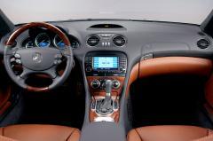 2007 Mercedes-Benz SL-Class interior
