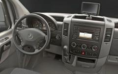 2011 Mercedes-Benz Sprinter interior