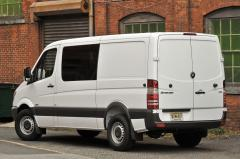 2014 Mercedes-Benz Sprinter 2500 High Roof 144-in. WB exterior