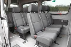 2015 Mercedes-Benz Sprinter interior