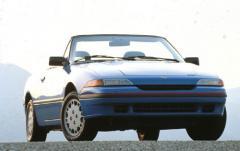 1992 Mercury Capri exterior