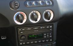 2001 Mercury Cougar interior