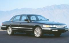 1993 Mercury Grand Marquis exterior