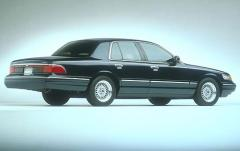 1997 Mercury Grand Marquis exterior