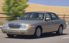 2000 Mercury Grand Marquis exterior