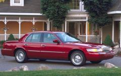 2001 Mercury Grand Marquis exterior