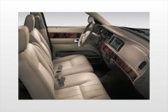 2007 Mercury Grand Marquis GS interior