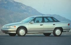 1992 Mercury Sable exterior