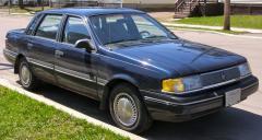 1991 Mercury Topaz Photo 1