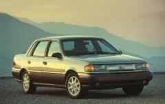 1992 Mercury Topaz exterior