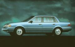 1994 Mercury Topaz exterior