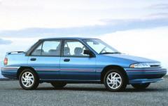 1991 Mercury Tracer exterior