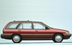 1993 Mercury Tracer exterior