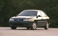 1999 Mercury Tracer exterior