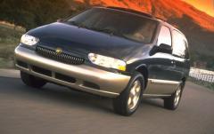 1999 Mercury Villager exterior
