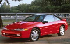 1992 Mitsubishi Eclipse exterior