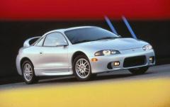 1997 Mitsubishi Eclipse exterior