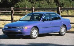 1996 Mitsubishi Galant exterior