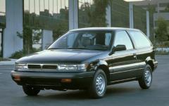 1990 Mitsubishi Mirage exterior