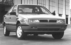 1991 Mitsubishi Mirage exterior