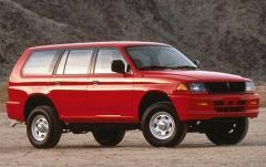 1998 Mitsubishi Montero Sport exterior
