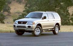 2004 Mitsubishi Montero Sport exterior