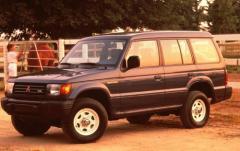 1993 Mitsubishi Montero exterior