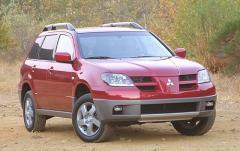 2004 Mitsubishi Outlander exterior