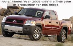 2009 Mitsubishi Raider exterior