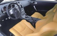 2003 Nissan 350Z interior