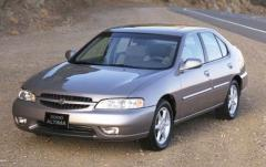 2001 Nissan Altima exterior