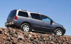 2006 Nissan Armada exterior