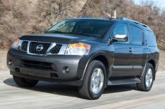 2013 Nissan Armada exterior