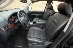 2014 Nissan Armada interior