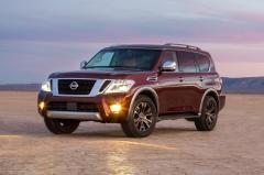 2017 Nissan Armada exterior