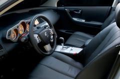 2007 Nissan Murano interior